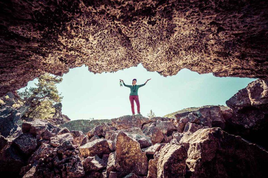 Enterting Buffalo Cave