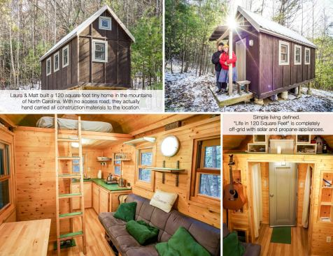 Laura & Matt's Life in 120 Square Feet