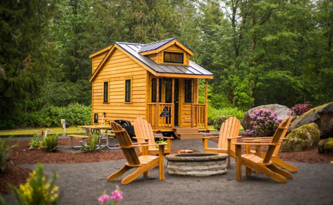 Atticus Tiny House Rental At Mt Hood Tiny House Village In