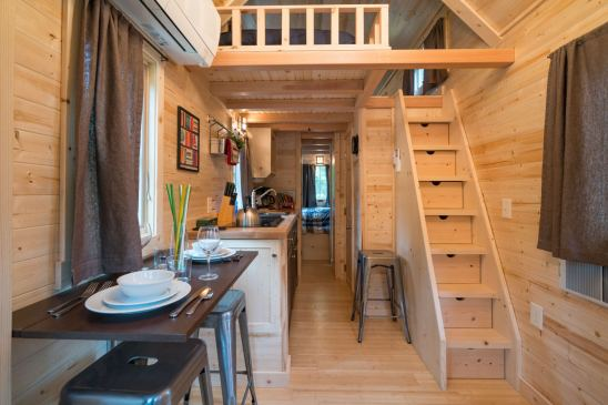 Mt Hood Tiny House Village Lincoln Tumbleweed - 0011