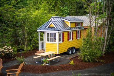 Mt Hood Tiny House Village Savannah Tumbleweed - 0003