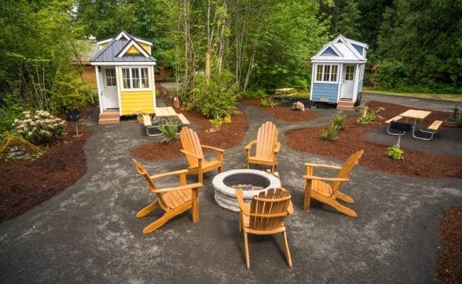 Tiny House Village Offers Rentals To Try Tiny Life In Mt