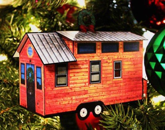 3D Paper Tree Ornament