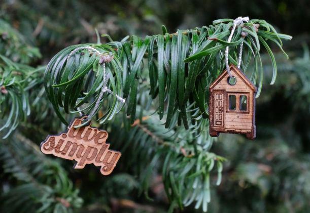 Tiny House tree ornaments