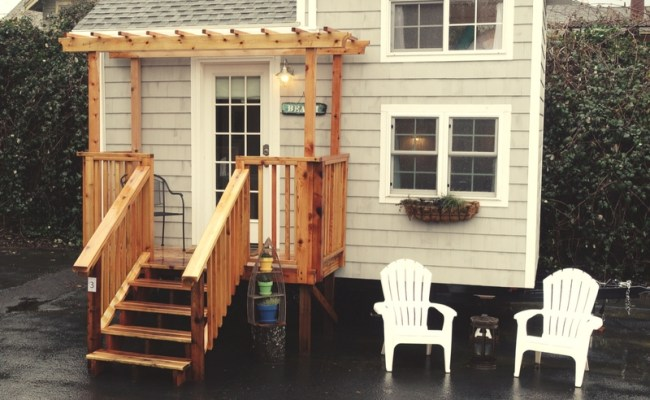 Tiny Beach House Is Available For Rent At Portland Tiny