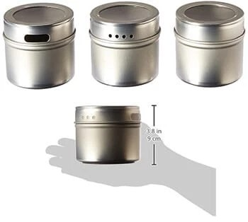 Kamenstein-Magnetic-Multi-Purpose-Spice-Storage-Tins