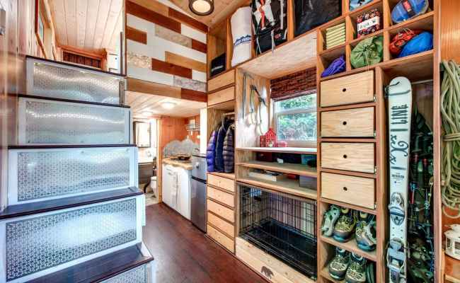Engineer Couple Designs Incredible Off Grid Tiny Home