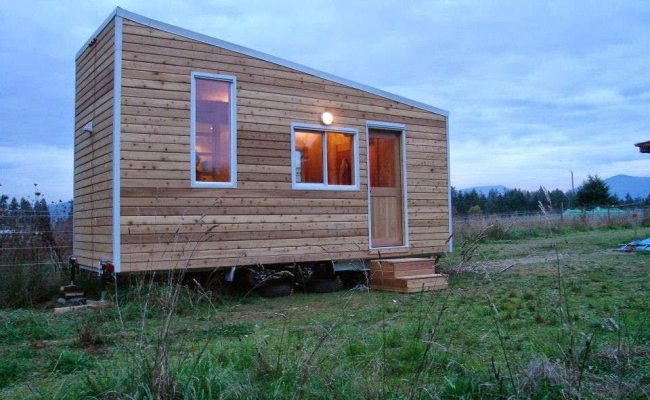 Building A Green Tiny House In Bc Canada Tiny House