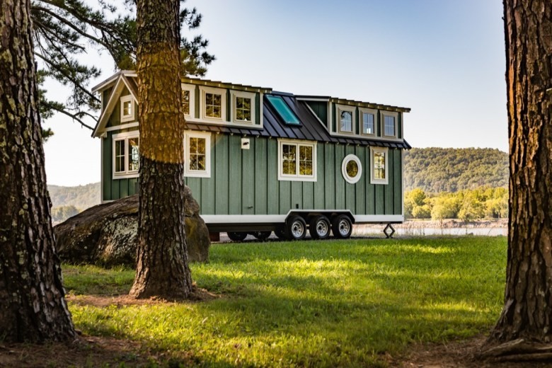 28′ Timbercraft Tiny Home with Two Oversized Dormer Lofts