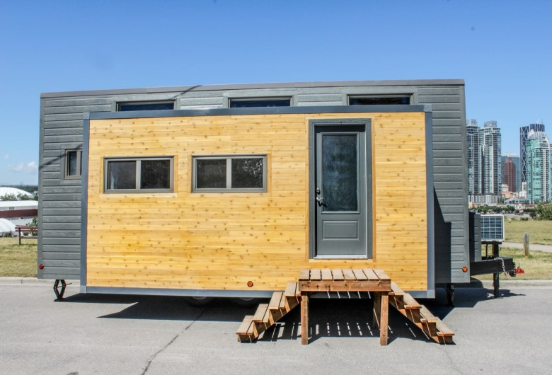 Superb Expanding Tiny House On Wheels Built In Canada Expands With Interior Design Ideas Jittwwsoteloinfo