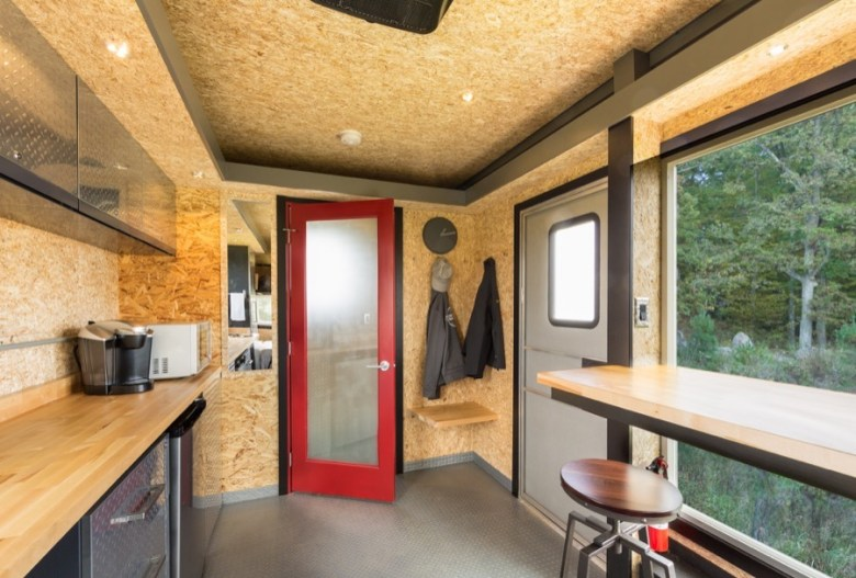 Tiny House Disguised as a Cargo Trailer: Meet the Escape Sport Travel Trailer!