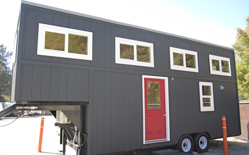 30ft Streamline Gooseneck Tiny House 001
