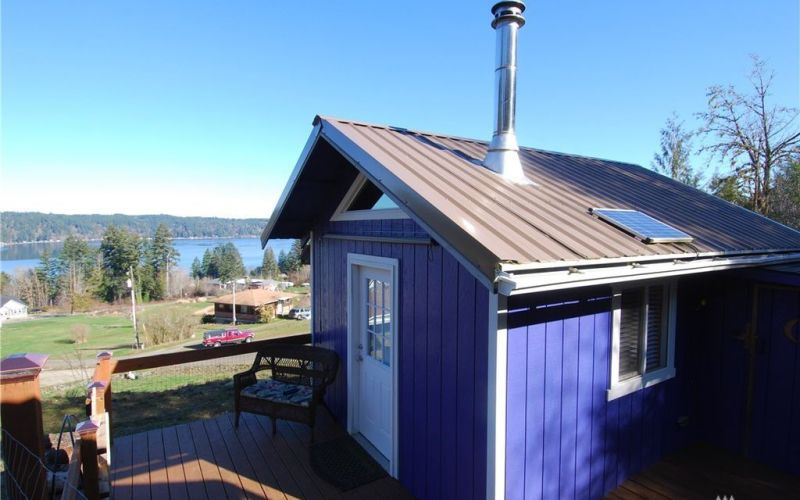 One Room Tiny Cabin for sale in Union WA 001