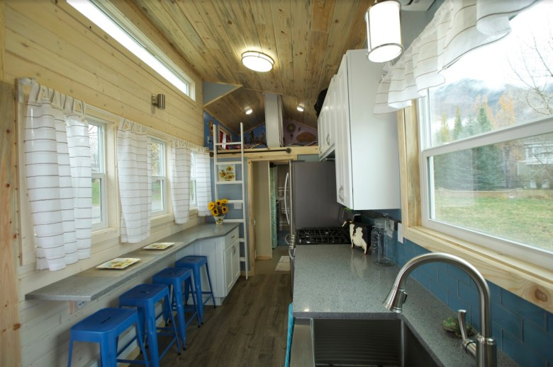 Tiny Home Designs: Family Of Four's Double Loft Tiny Home On Wheels!