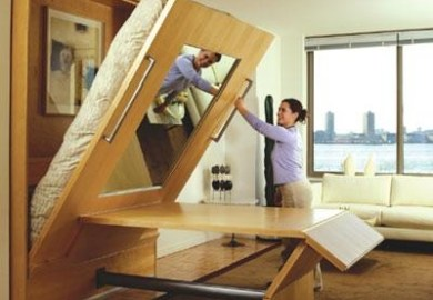 Dual Function Murphy Beds For Tiny Homes