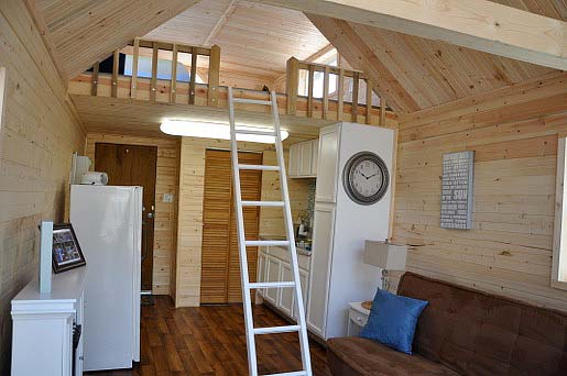 Tiny Floating Home Renovation Before  After  Tiny House