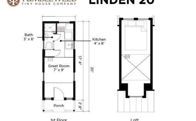 Linden 20 Tiny House 131 Sq Ft Of Bliss For Less Than