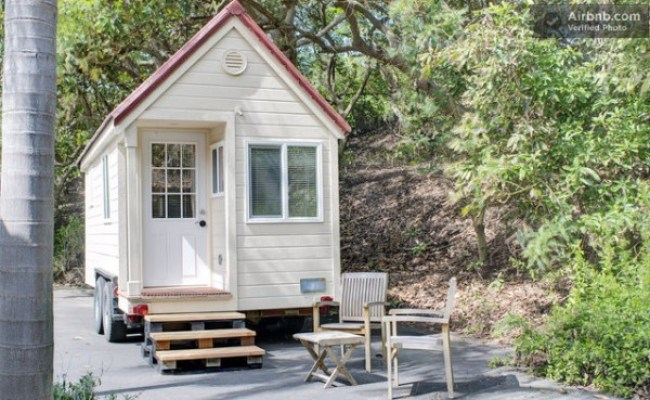 Experience A Tiny House Using This Vacation Rental In