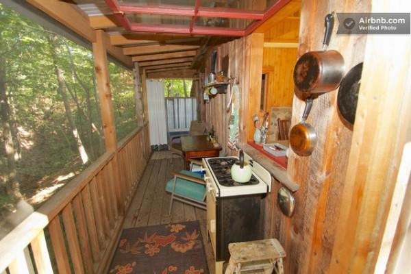 Tiny Rustic Cabin with Loft in NY  Tiny House Pins