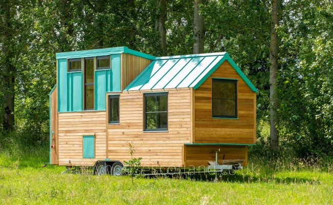 Nestpod Tiny House On Wheels For Sale On Behalf Of