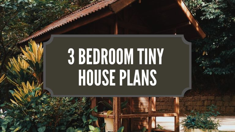 3 Bedroom Tiny House Plans