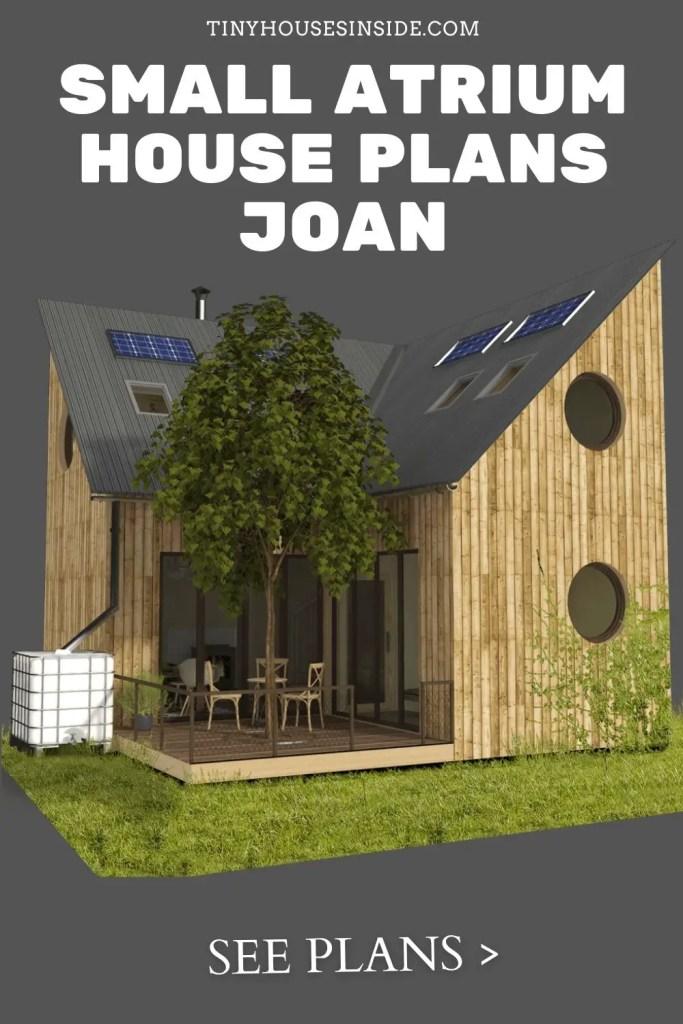 Small Atrium House Plans Joan