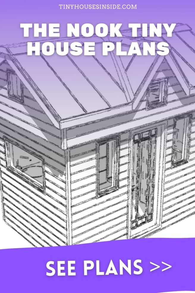The Nook Tiny 1 bedroom house plans