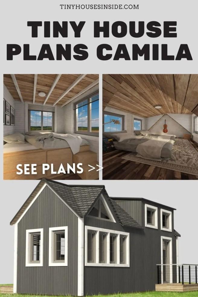 Tiny House Plans Camila 1 bedroom