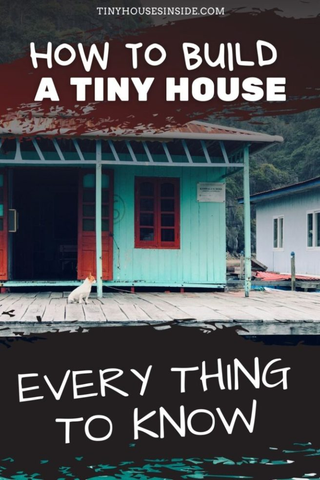 building a tiny house with no experience