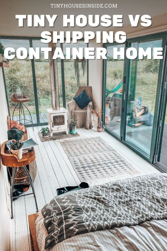 container homes vs tiny homes