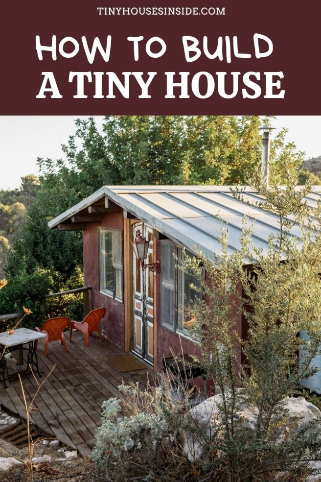 how to build a tiny house on wheels step by step