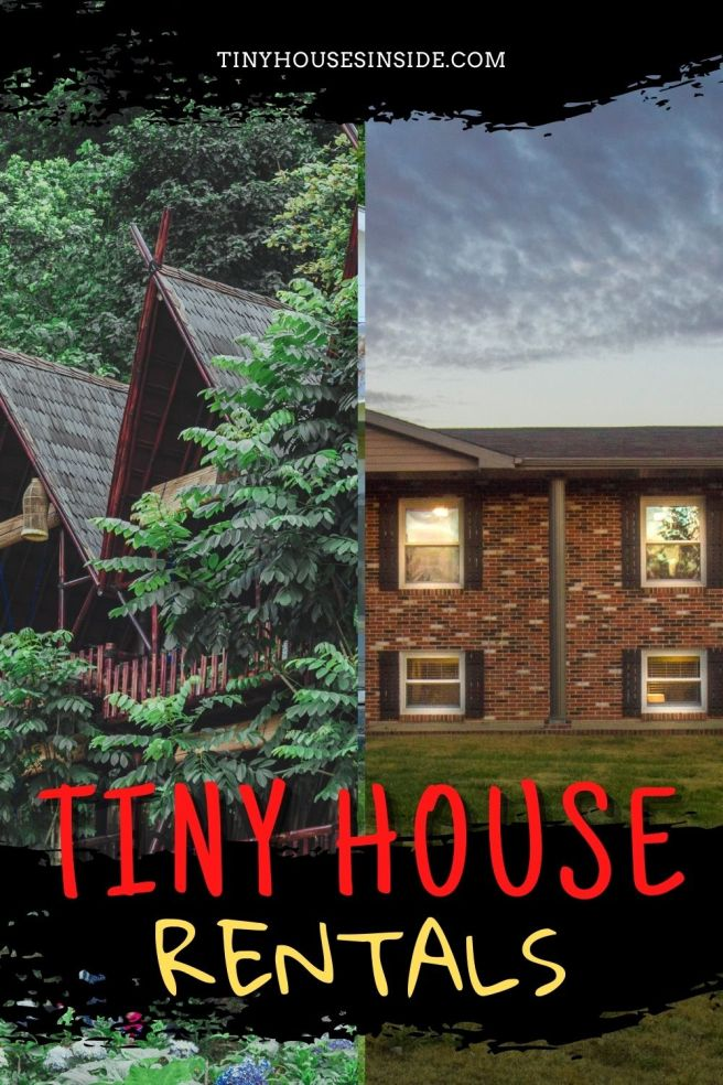 how to rent a tiny house