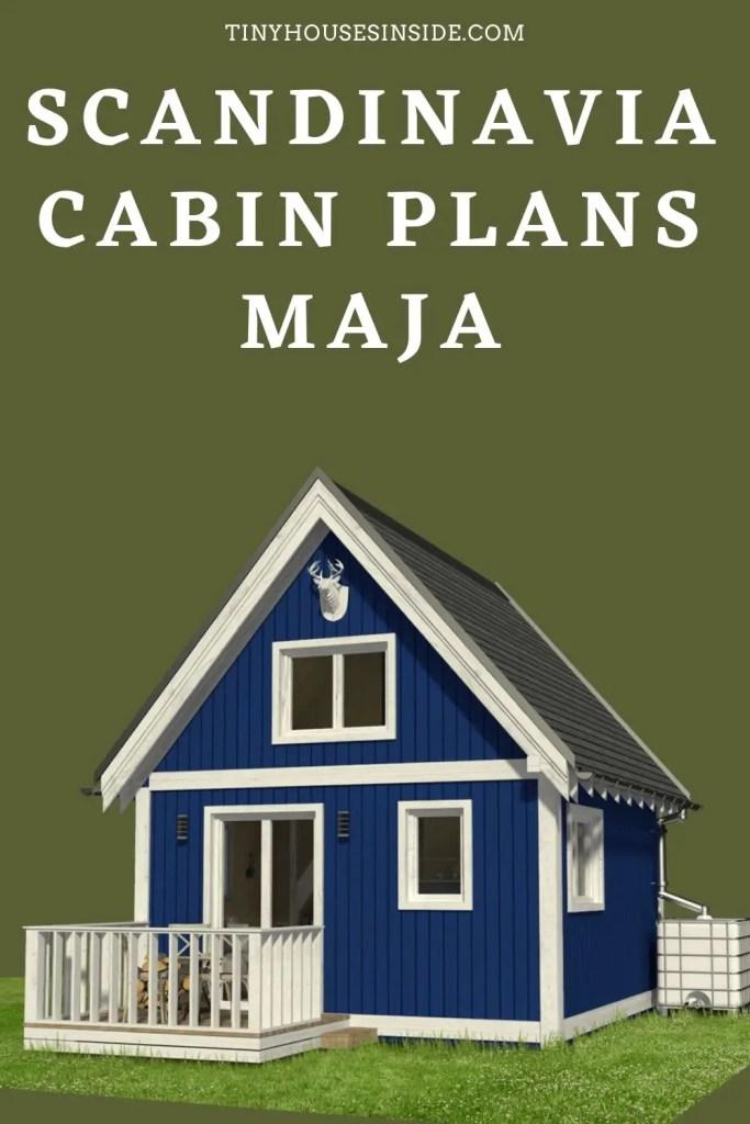Scandinavian Cabin Plans Maja