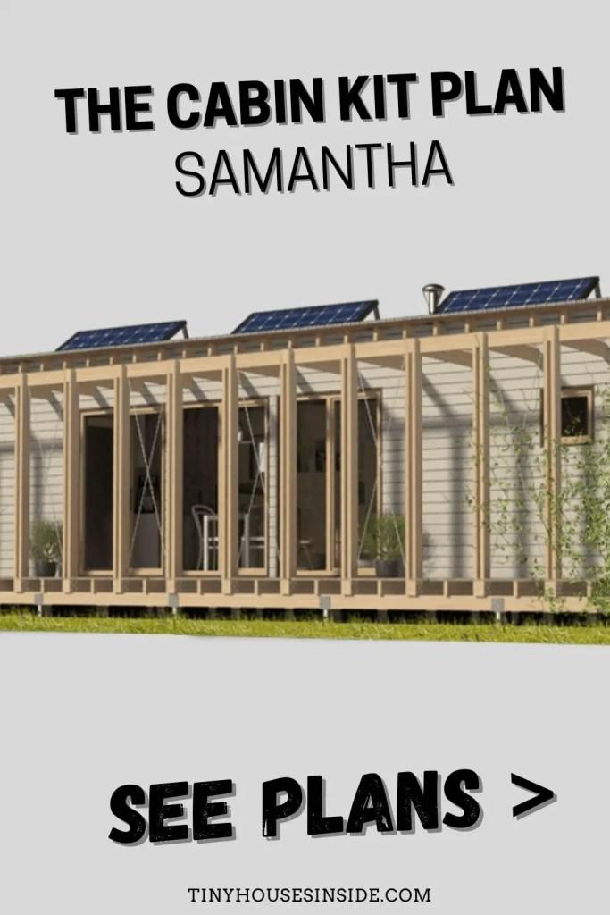 The Cabin Kit Plan Samantha 6000 sq ft