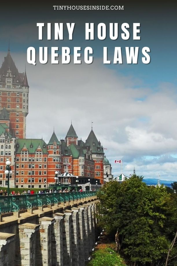 Tiny House Quebec Laws