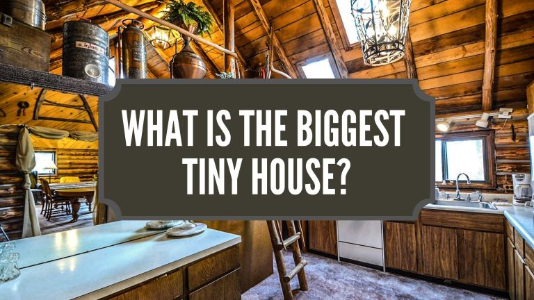 what is the biggest tiny house