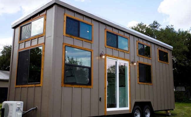 Texas Waterfront By Nomad Tiny Homes Tiny Houses On