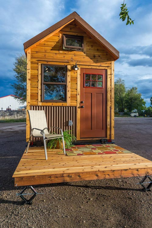 Davis off grid tiny house by mitchcraft tiny homes tiny for Small home builders near me
