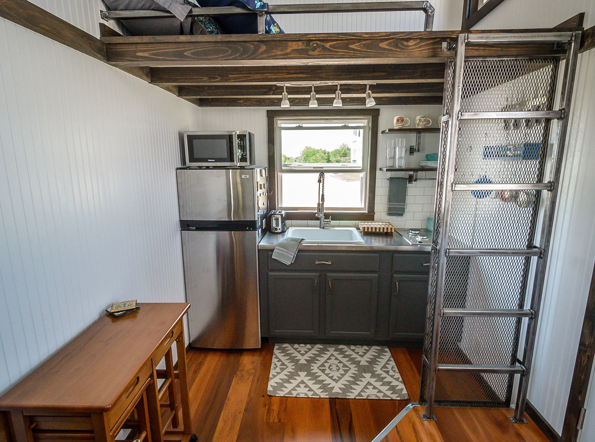 The triton by wind river tiny homes tiny houses on for Small house builders near me