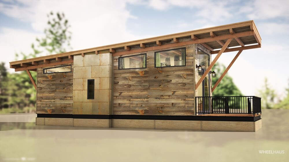 The wedge by wheelhaus tiny houses on wheels for sale - Model homes near me ...