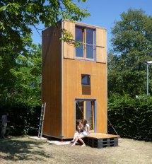 Three-Story Tiny House Plans