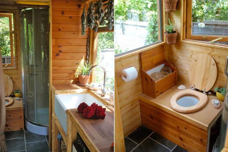 off the grid bathroom - thedancingparent