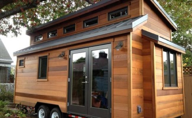 Half Barn Annex Tiny House Swoon
