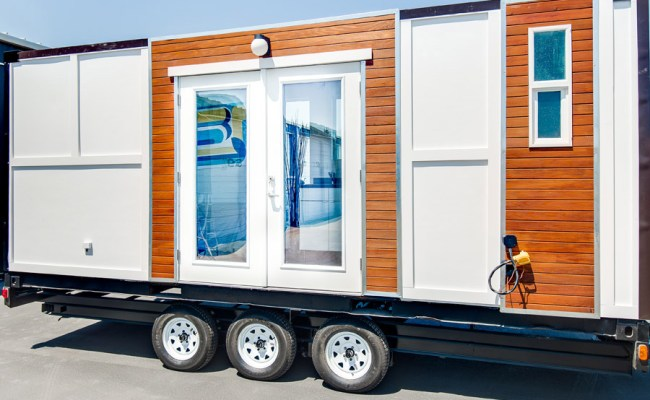 Converted Container Tiny House Swoon