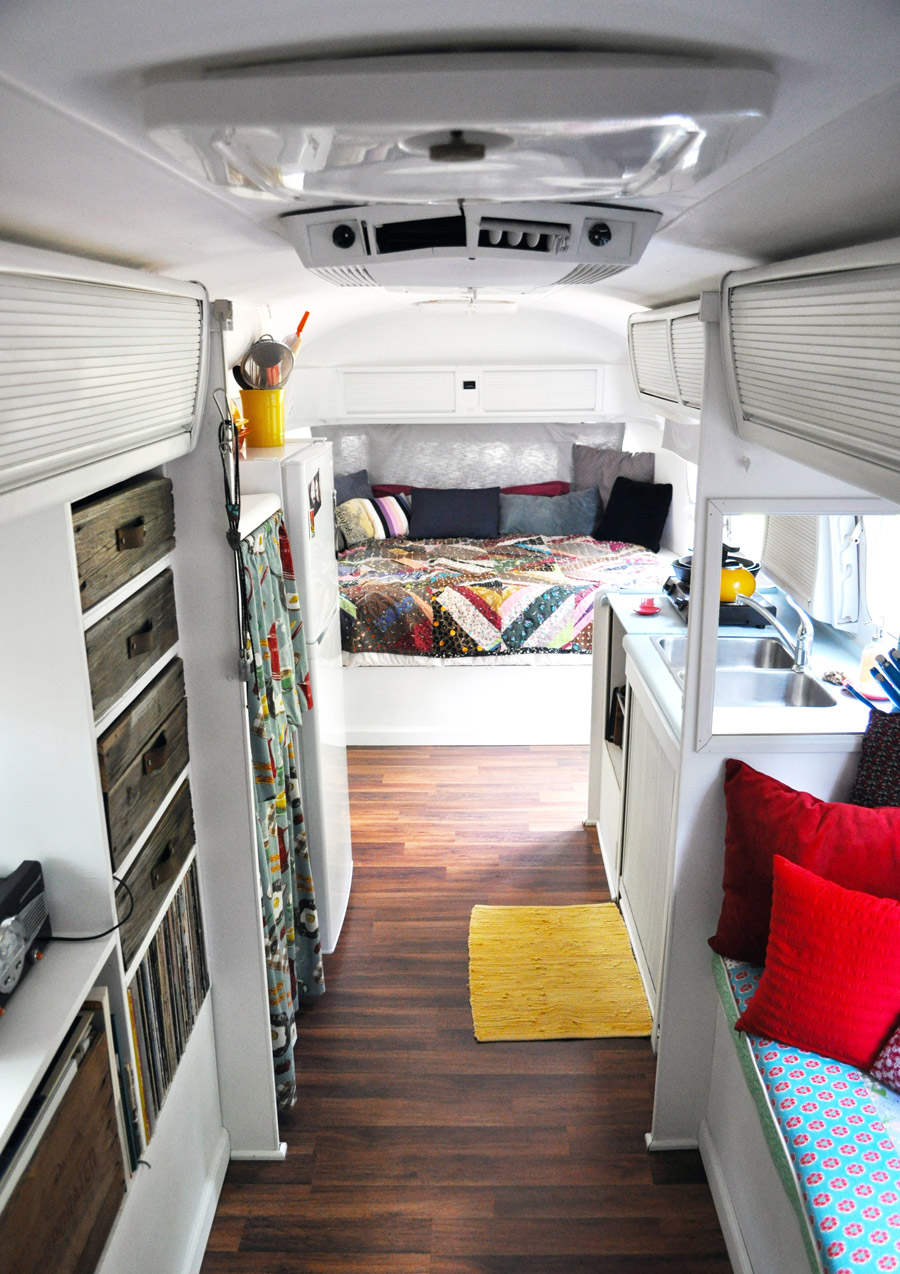 A Small Life Airstream  Tiny House Swoon