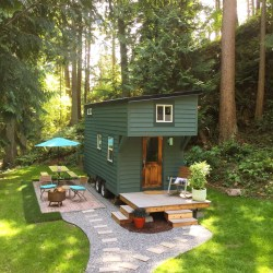 tiny island guemes casas houses swoon para tinyhouseswoon casa jardines pequenas frentes