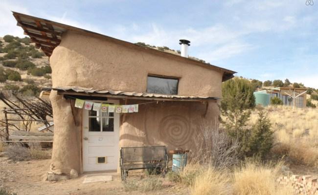 New Mexico Strawbale Tiny House Swoon