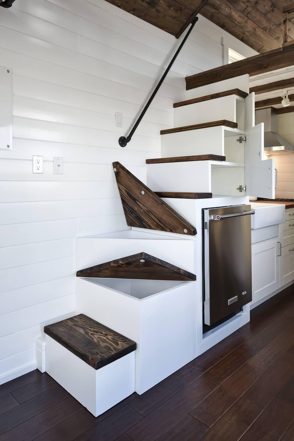 Custom Loft  Tiny House Swoon