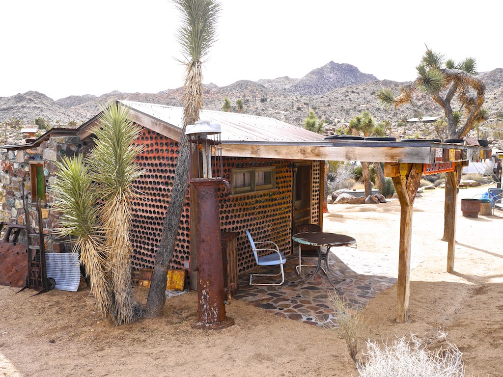 Image result for bottle house in joshua tree area