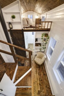 Rustic Tiny House Interior